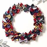 ^ Bowtie wreath