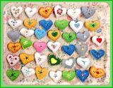 Tray of Hearts