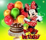 Happy Birthday From Minnie