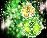Abstract Christmas Ornaments