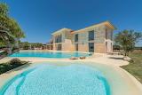 Luxury stone villa, garden and pools in Ibiza