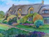 ^ Thatched Roof Cottage ~ Egretta Wells