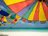 Colorful-beach-umbrellas