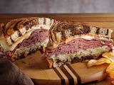 ^ Reuben sandwich