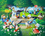 Donald Duck comic by Carl Barks