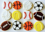Rotate the sports balls @ Rebecca Cakes & Bakes