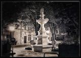 St. Remy Fountain at Night