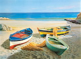 boats on the beach, Adriano Galasso