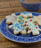 Blue plate cookies