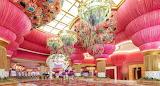 Facility entrance-pink Okada hotel