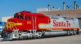 Train Locomotive Santa Fe 101