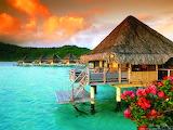 Tahiti @ wallpapersafari.com...