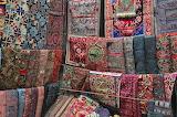 Carpets at Panjiayuan Market, Beijing, China