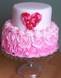 Hearty swirly cake
