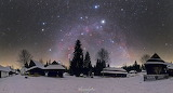 "Space tumblr nasa-daily ""A Northern Winter Sky Panorama"""