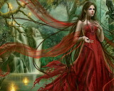 Red-Dress-Girl-in-Nature