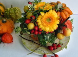 Jesienny stroik