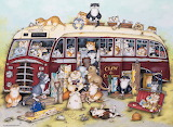 Crazy Cats go on a coach trip - Linda Jane Smith