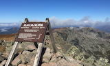 After Hiking 2189 Miles - Katahdin Terminus