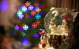 Christmas toys snowglobe