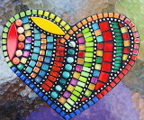 Mosaic Heart @ Pinterest...