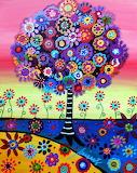 art flowers--