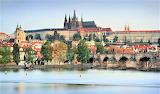 Prague Castle and Charles Bridge Czech Republic