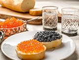 Torrejas con caviar
