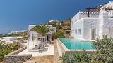 Beautiful white sea view villa, pool and garden