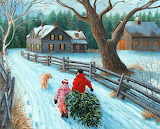 Christmas on the Farm by Kevin Dodds...
