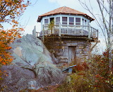 Firetower at Mount Cammerer Smoky Mountain - Photo from Piqs