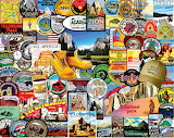 National Park Badges by Charles Girard