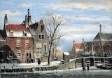 Paesaggio urbano invernale-Willem Koekkoek