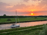 Sunset in the Netherlands