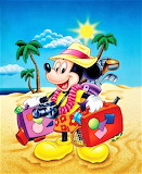 #Mickey Arrives at the Beach