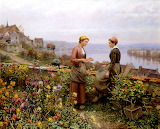Confidence by Daniel Ridgway Knight