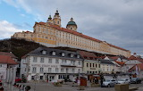 City Melk with castle Austria