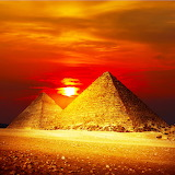 Giza Pyramids, Egypt...
