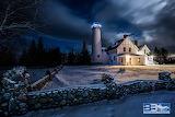 I love St. Ignace Puzzle-Bryan Byrnes-Iroquois Pte. Light