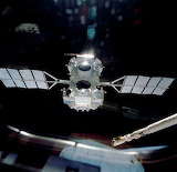 April 7, 1991, Compton Gamma Ray Obs. Launch.