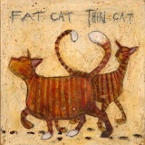 ^ Sam Toft ~ Fat Cat - Thin Cat