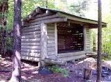 Mile 1748 Moose Mountain Shelter
