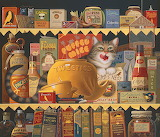 Ethel the Gourmet by Charles Wysocki
