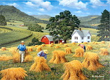 Hilltop Harvest~ JohnSloane