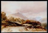 Landscape near Beddgelert Anthony Vandyke Copley Fielding