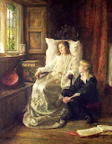 The Children of Charles I, by Margaret Dicksee (1859 - 1903)