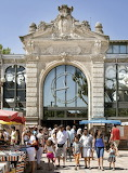 Public Market Clock and Entry - Narbonne
