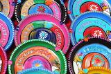 Colorful ceramics, souvenirs of Mexico