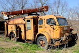 Old Utility Truck