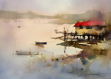 Presenting John Lovett's Watercolor Paintings Xenia Nova
